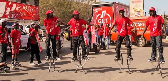 Launch of the 2015 Nescafé Get Started campaign in Central and West Africa