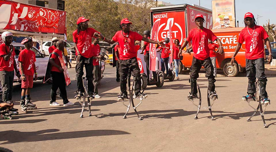 Nescafé has launched its 2015 Get Started campaign in Central and West Africa