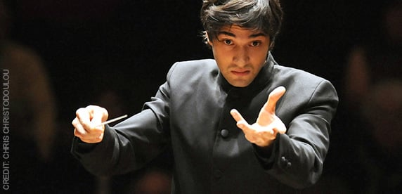 David Afkham, conductor of the Spanish National Orchestra