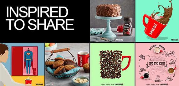 Nescafe on Tumblr platform
