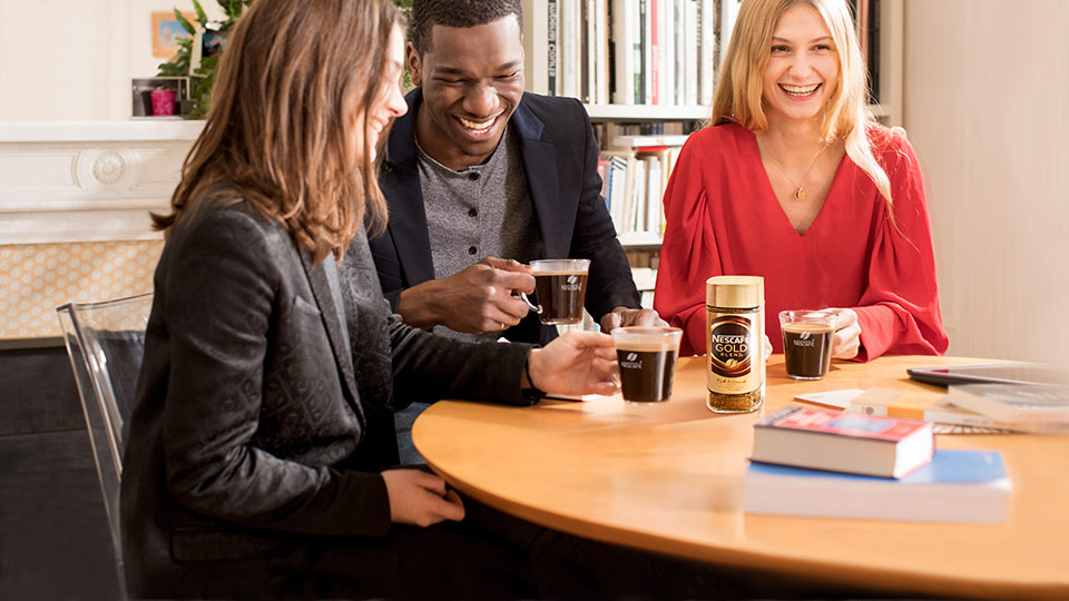 New Nescafé Gold reveals hidden tastes and aromas