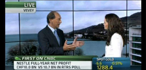 Paul Bulcke on CNBC