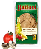 Buitoni 100% Whole Wheat Four Cheese Ravioli