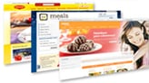 Nestlé recipe websites