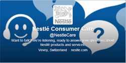 Nestlé Consumer Services on Twitter