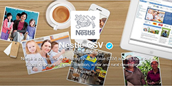 Nestlé Creating Shared Value on Twitter