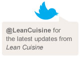 Link to Lean Cuisine Twitter page