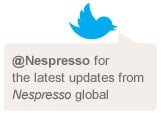 Link to Nespresso Twitter page