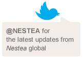 Link to Nestea Twitter page