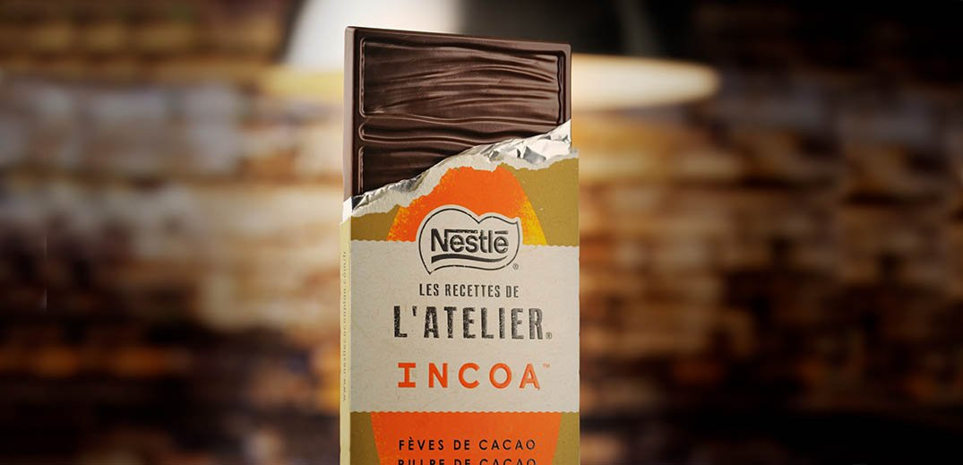 Incoa chocolate bar