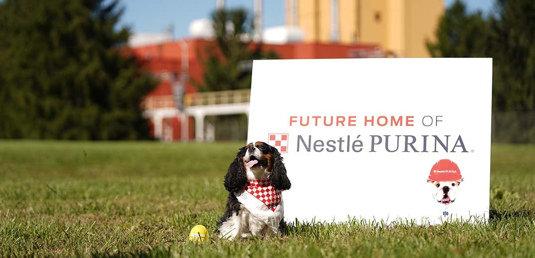 new Purina pet food plant