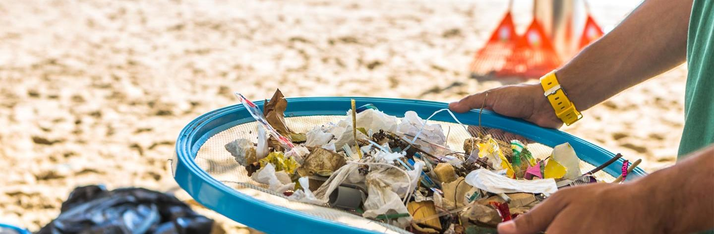 Tackling plastic pollution