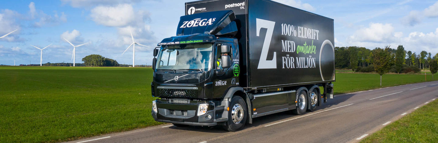 Zoegas electric truck