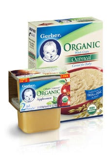 Gerber baby food pack